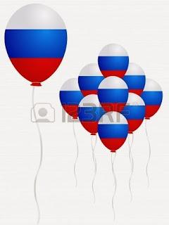 globos de amor para rusia